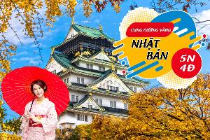 Tour Du Lịch Nhật Bản Cung Đường Vàng – Osaka – Tokyo 5N4Đ