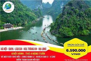 Tour Du Lịch Hà Nội – Sapa – Lào Cai – KDL Tràng An – Hạ Long 5N4Đ