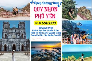 Tour Du Lịch Quy Nhơn Phú Yên 4N3Đ Từ Hồ Chí Minh