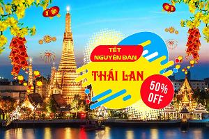 Tour Thái Lan Tết 2019 Từ HCM 5N4Đ