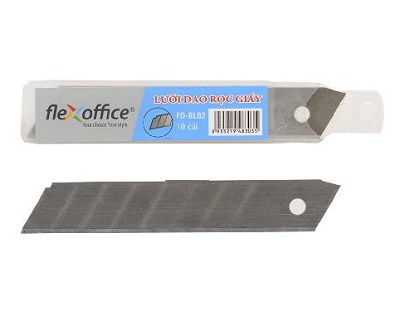 Lưỡi dao rọc giấy FO-BL02 18mm