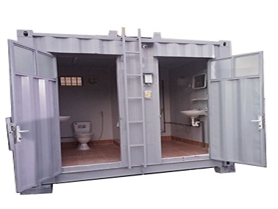 Container 10 feet tolet