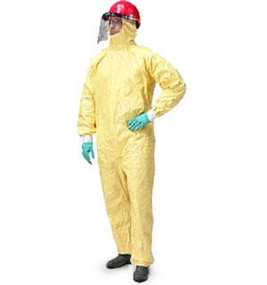 Quần áo chống hóa chất Dunpont Tychem C