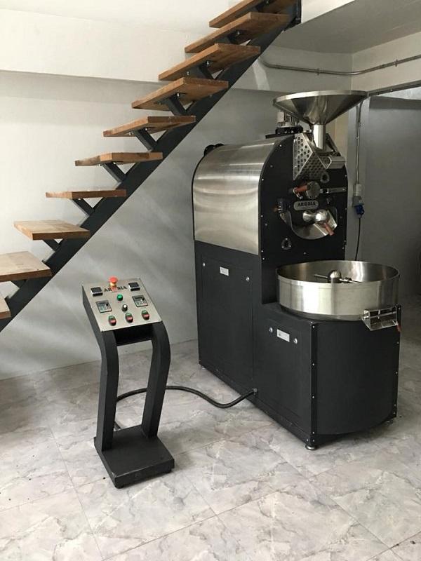 Máy rang cà phê O Tesla - 6