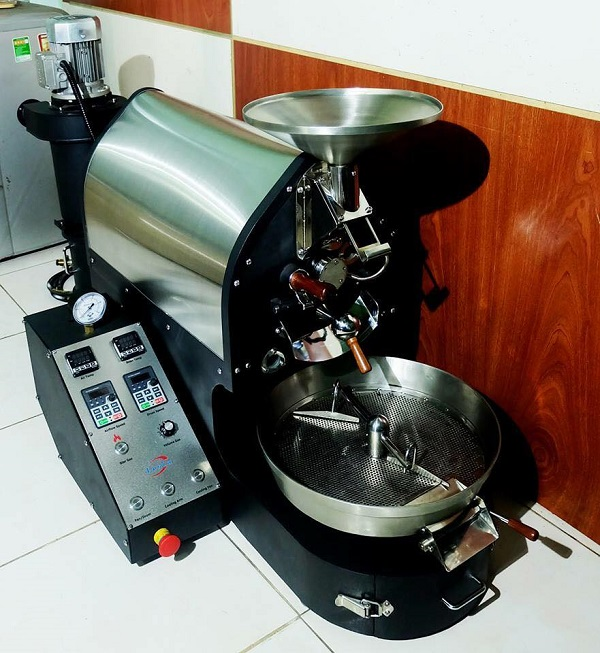 Máy rang cà phê O Tesla - 1