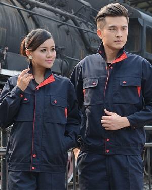 Quần áo bảo hộ mẫu 001
