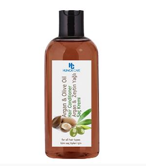 Dầu xả phục hồi, bảo vệ tóc chiết xuất Olive và Argan Hunca Care