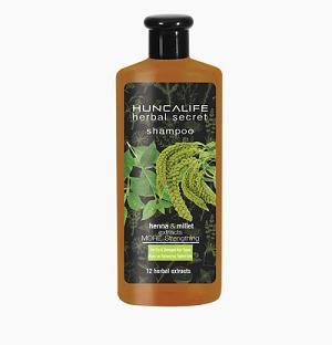 Dầu gội thảo dược giúp tóc chắc khỏe Huncalife