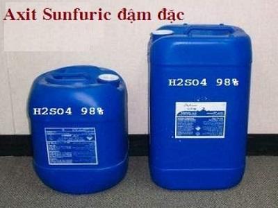 Acid sulfuric đậm đặc