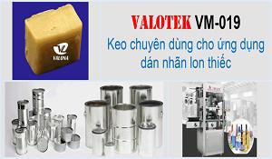 Keo Nóng Chảy Dán Nhãn Lon Thiếc Valotek VM-019