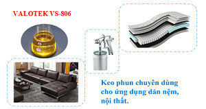 Keo Phun Dán Nệm, Sofa Valotek VS-806