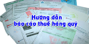 Dịch vụ báo cáo thuế hàng quý