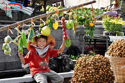 Tiền Giang - Châu Đốc - Núi Cấm - Cần Thơ - Chợ Nổi Cái Răng
