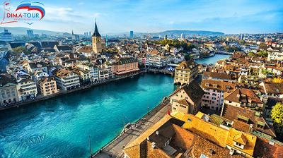 Du lịch Châu Âu Pháp - Thụy Sĩ - Đức