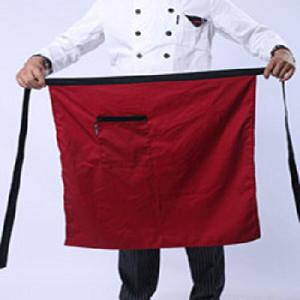 Tạp dề lửng nhà bếp màu đỏ