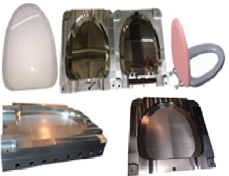 Khuôn Nắp Bàn Cầu CF-500VS