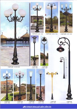 Trụ đèn trang trí CG07