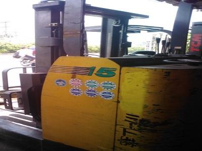 Xe nâng điện Komatsu 1.5 tấn FBR 15 2