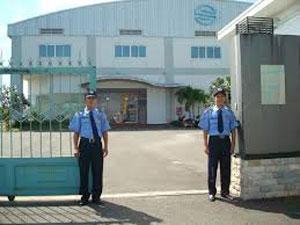 Bảo vệ khu công nghiệp nhà máy xí nghiệp