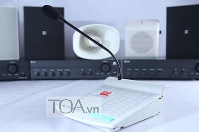 Micro điều khiển từ xa chọn 10 vùng loa TOA RM-200M