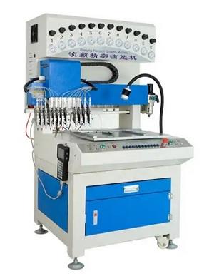 Máy sản xuất logo nhựa dẻo