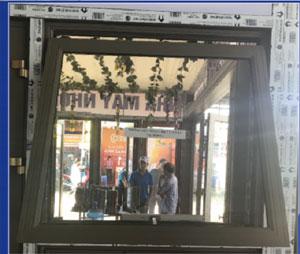 Cửa lật tự động lắp cho hệ cửa sổ