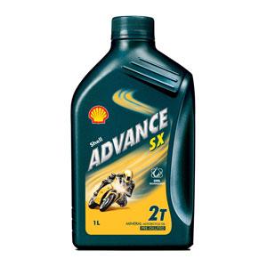 Dầu động cơ xe máy Shell Advance SX 2