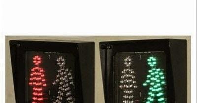Đèn tín hiệu giao thông đi bộ (loại vuông)
