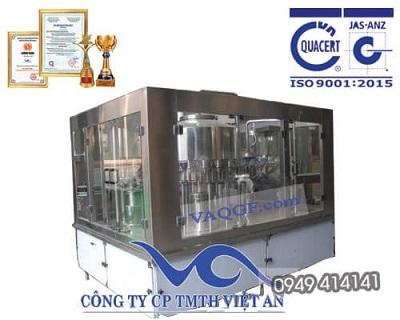 Máy chiêt rót đóng chai tự động 7 trong 1 VACGF 3000