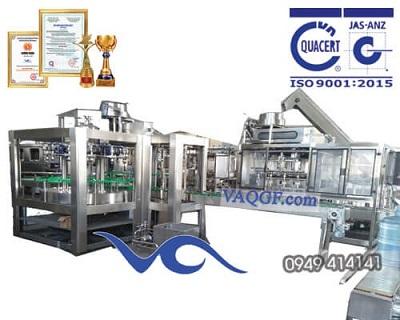 Máy chiết rót đóng bình tự động 9 trong 1 VAQGF 1200