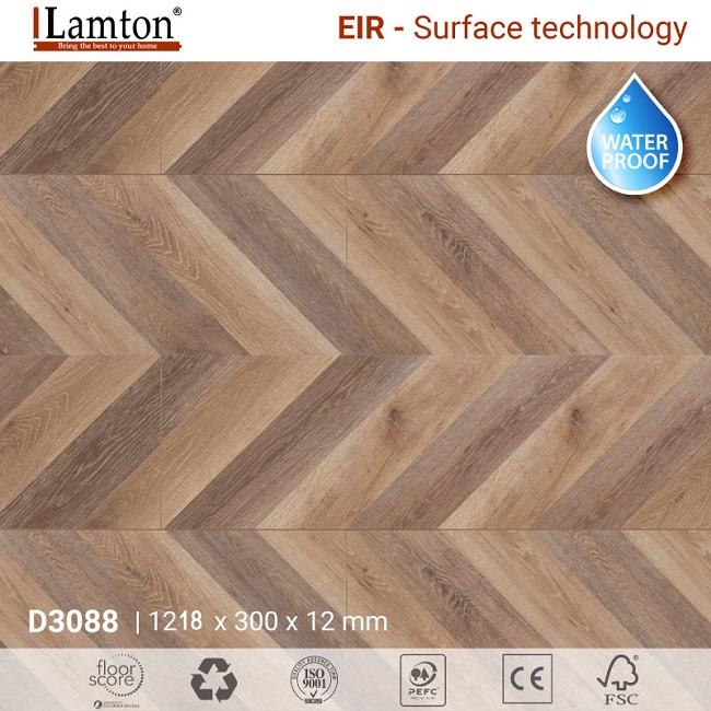 Sàn gỗ xương cá Lamton
