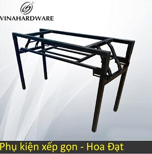 Khung bàn ghế xếp gọn sắt sơn tĩnh điện