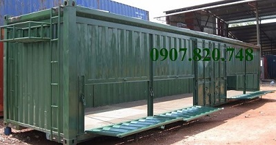 Container mở nóc mở bửng