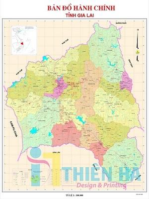 In bản đồ