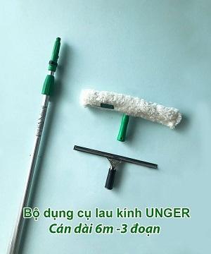 Bộ dụng cụ lau kính Unger