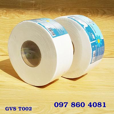 Giấy Vệ Sinh Cuộn Lớn GVS T002
