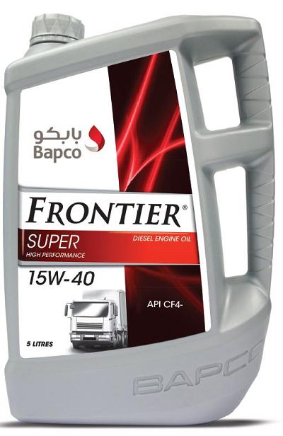 Bapco Frontier Super 15W-40 API CF4