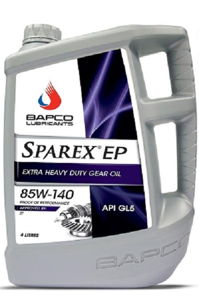 Bapco Sparex EP 85W-140 GL-5