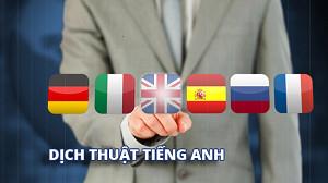 Dịch Văn Bản Tiếng Việt Sang Tiếng Anh