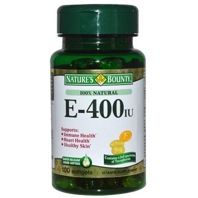 Vitamin E – 400 IU
