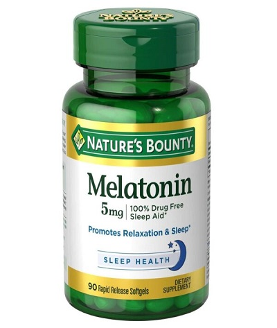 Viên Uống Điều Hòa Giấc Ngủ Nature's Bounty Melatonin
