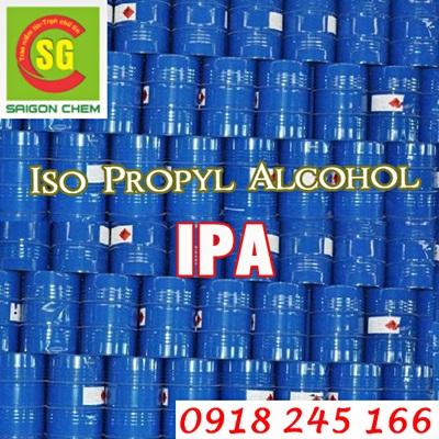 Hóa Chất Dung Môi Iso Propyl Alcohol (I.P.A)
