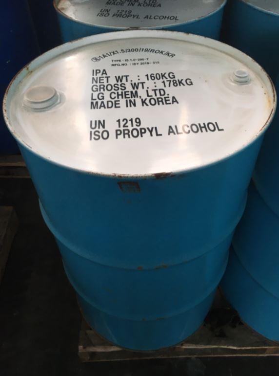 Dung Môi Isopropyl Alcohol