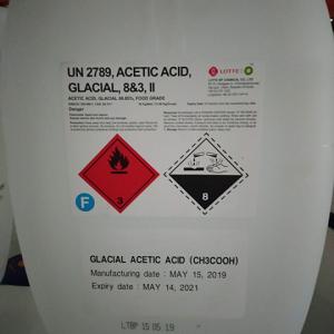 Chất Điều Vị Acid Acetic