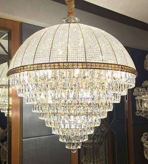 Đèn Chùm Pha Lê